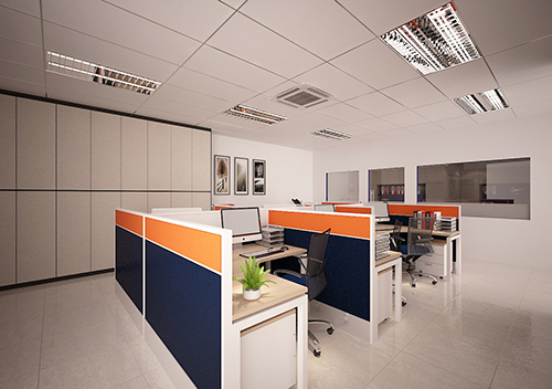 h-common office area